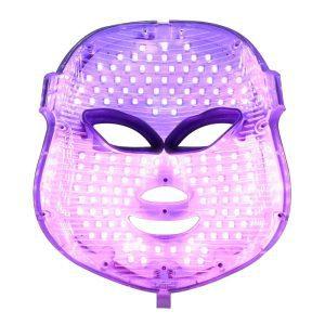 paars led masker